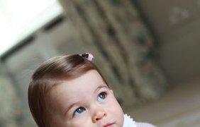Принцесса Шарлотта сегодня празднует свой первый день рождения