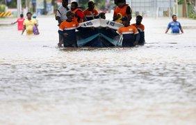 От стихии пострадали 450 тыс. человек