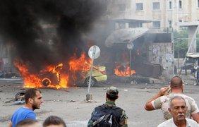 В городах Тартус и Джабль произошла серия взрывов