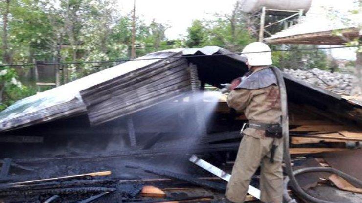 ВЗатоке сожгли две базы отдыха