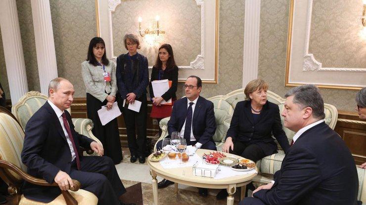 Нормандская четверка одобрила вооруженную миссию ОБСЕ на Донбассе