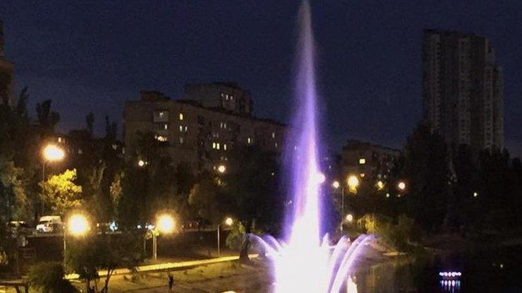 ВКиеве откроют наибольший фонтан наДень города
