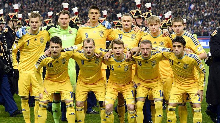 Сборная украины по футболу результат.