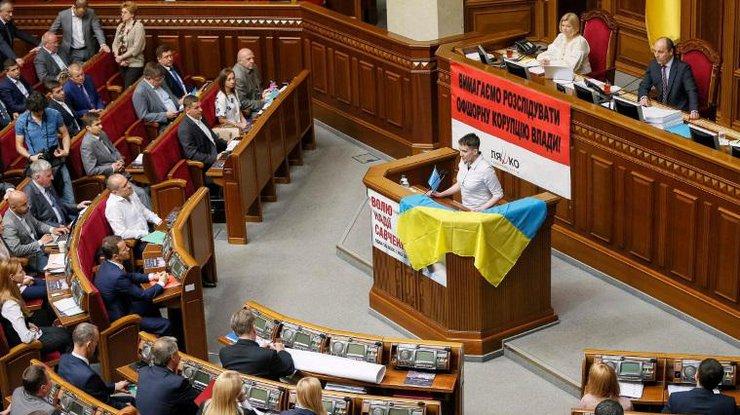 Савченко— нардепам: Вывсе на«Титанике», никто извас невыплывет