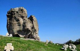 Чертов камень во Львовской области