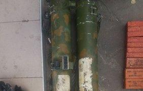 На Донбассе обнаружен тайник с российским оружием