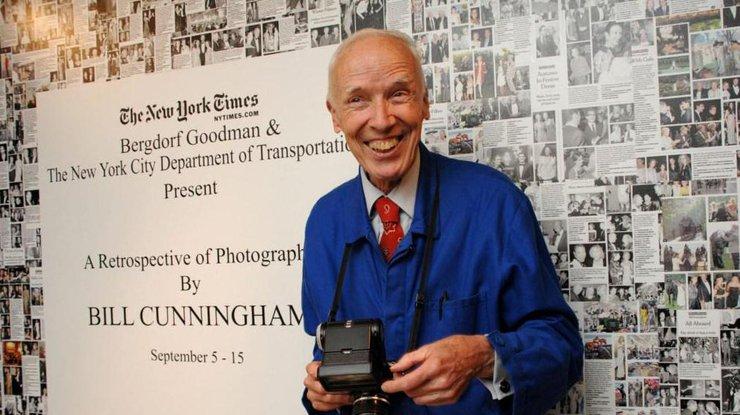 Умер известный американский фотограф Билл Каннингэм