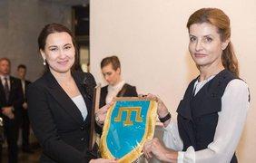 Марина Порошенко поздравила журналистов с профессиональным праздником