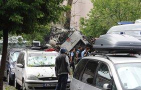 В Турции на автобусной остановке прогремел взрыв