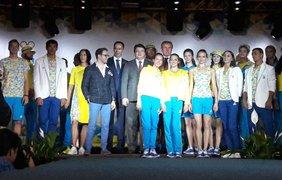Форма сборной Украины на олимпийских играх в Рио-де-Жанейро