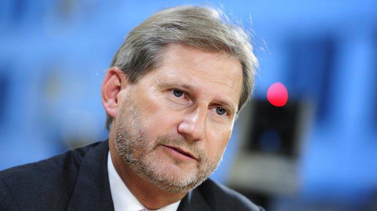 Еврокоммисар: Безвизовый режим с государством Украина будет принят осенью