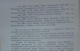 Открытое письмо президенту Украины Петру Порошенко
