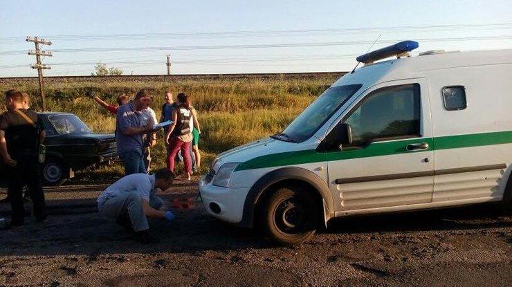 ВЗапорожской области совершено нападение наинкассаторов «Ощадбанка»