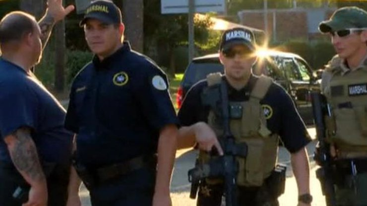 ВСША мужчина застрелил 3-х  полицейских