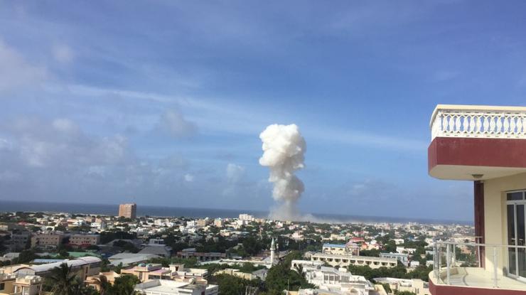 Взрывы ваэропорту Могадишо забрали жизни 13 человек