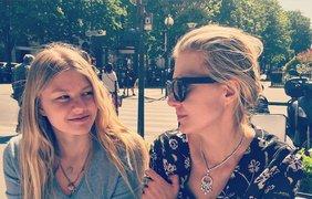Рената Литвинова и дочь
