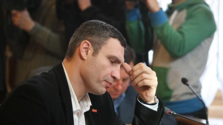 Киевский мэр Кличко отчитался оборьбе сосмогом