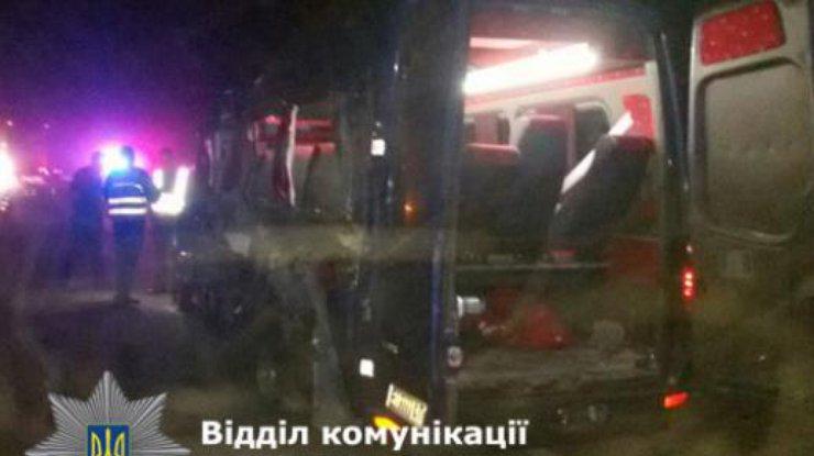ВРовенской области мелитополец погиб вДТП с3 жертвами
