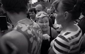 Протестующие требуют открытия погранперехода / Фото: из Facebook