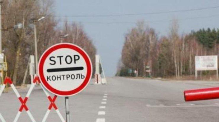 Боевики обстреляли КПП «Марьинка», пострадал пограничник