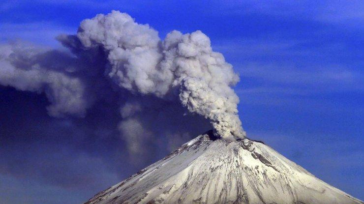 Мехико пострадал отпроснувшегося вулкана