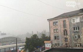 Жители города не успели спрятаться от ливня
