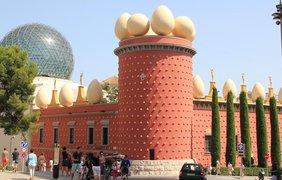 Дом с яйцами, Фигерас, Испания