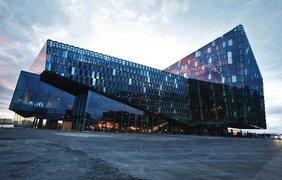 Концертный зал и конференц-центр Харпа, Рейкьявик, Исландия