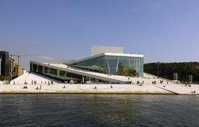 Оперный театр Осло, Норвегия