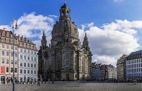 Церковь Фрауэнкирхе, Дрезден, Германия