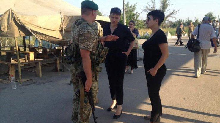 Савченко потребовала отПорошенко переговоров слидерами ЛНР иДНР