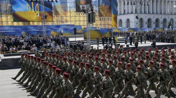 Репетиция парада коДню Независимости пройдет вцентре украинской столицы наследующей неделе