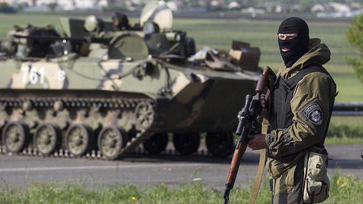 Боевики целятся всторону Мариуполя— штаб АТО