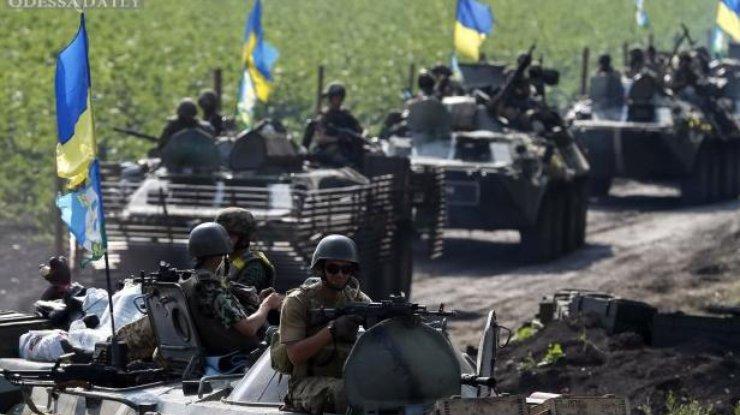 Надонецком направлении боевики 32 раза открывали огонь,— штаб АТО