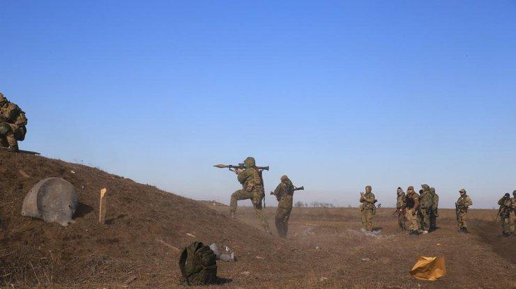 Массовые обстрелы изартиллерии— АТО
