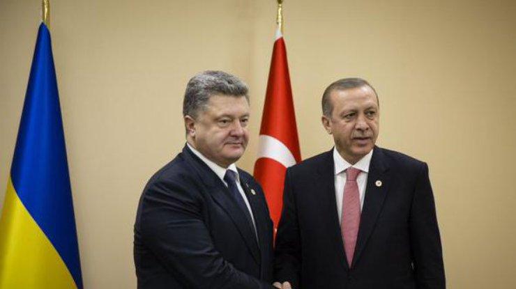 Эрдоган обещал непризнавать Крым русским — Порошенко