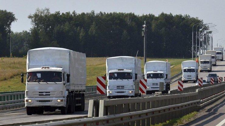 РФ готовится котправке 55-ой колонны гумконвоя