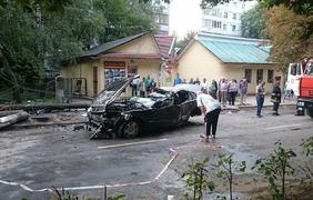 """Фото: FacebookСтрашная авария с участием """"Мерседес"""" на Прикарпатье"""