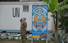 В Африке отпраздновали День украинского флага