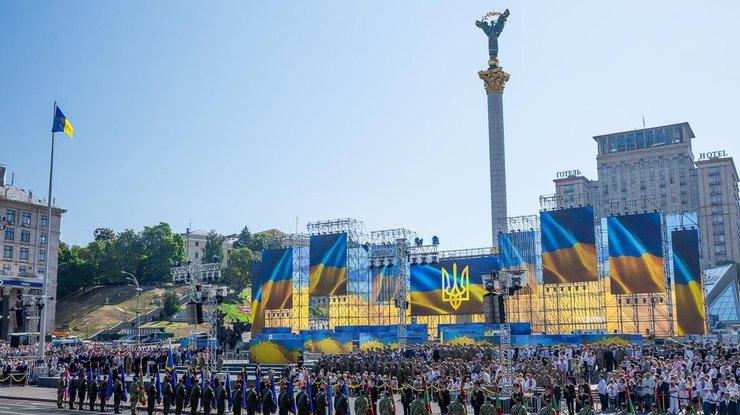 Украина празднует 24августа День независимости