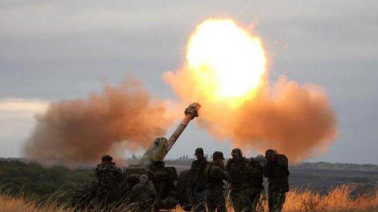Засутки наДонбассе зафиксировано 46 обстрелов позиций сил АТО— Штаб