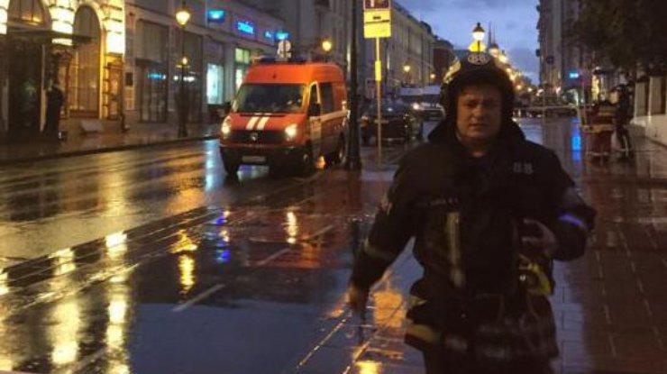 Захватчика банка вцентре столицы увезли надопрос работники ФСБ