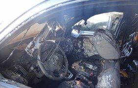 В Киеве сожгли автомобиль известному догхантеру