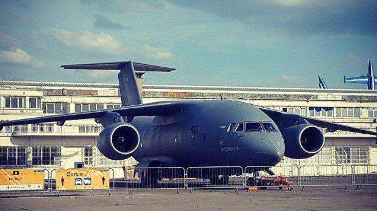 Антонов разворачивает производство Ан-178