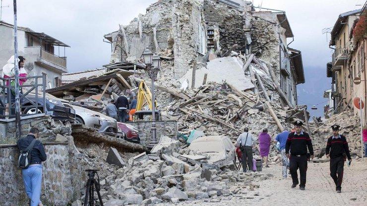 Землетрясение вИталии: Количество погибших выросло до 281 человека