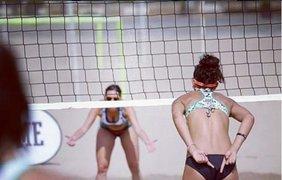 Пляжный спорт становится очень популярным