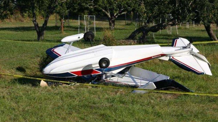 ВЧехии столкнулись два самолета