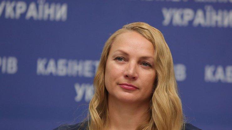 Кабмин сократил замминистра информации Татьяну Попову