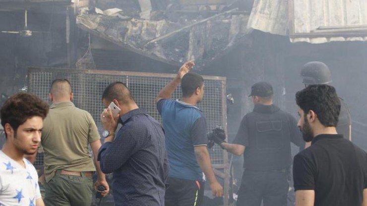18 человек погибли вИраке в итоге атаки террориста-смертника