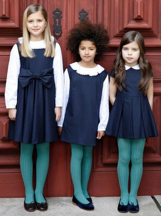 фото девочек на 1 сентября в школьной форме